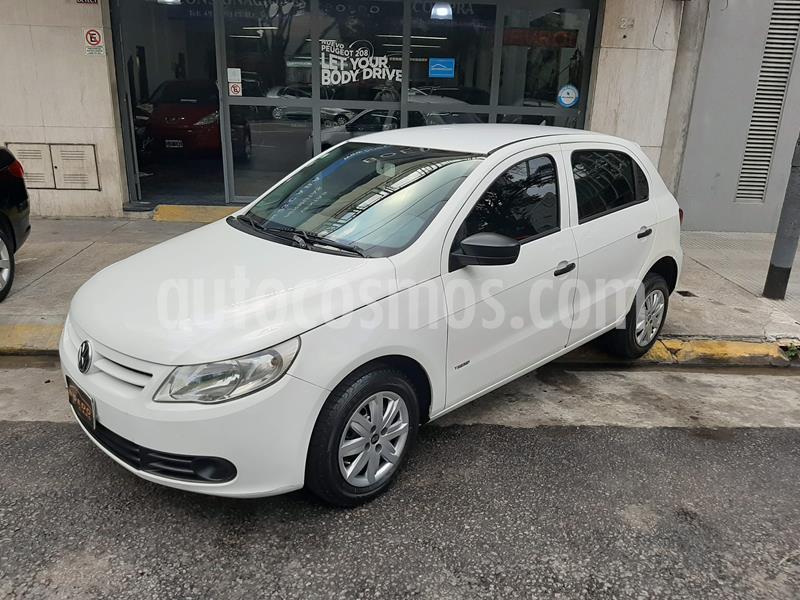 Volkswagen Gol Trend 5P Pack I usado (2012) color Blanco Cristal precio $579.900