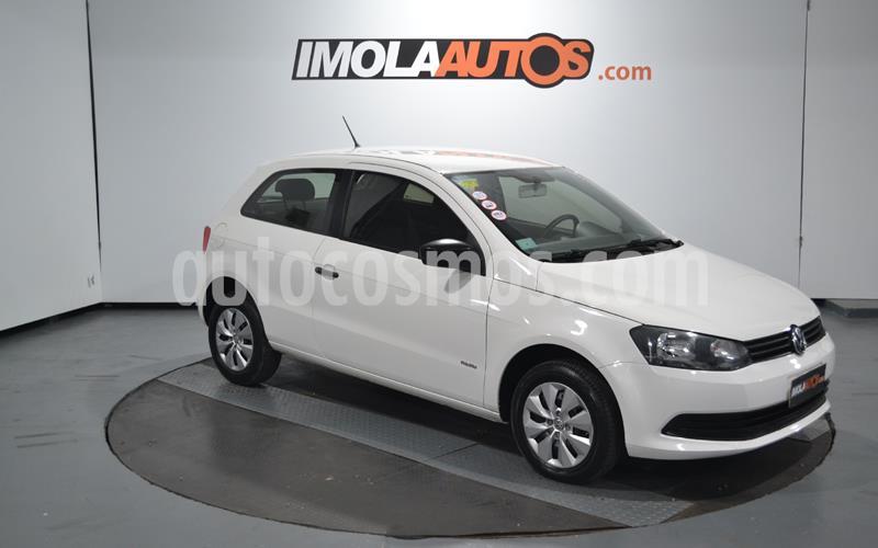 Volkswagen Gol Trend 3P Pack I usado (2013) color Blanco Cristal precio $440.000
