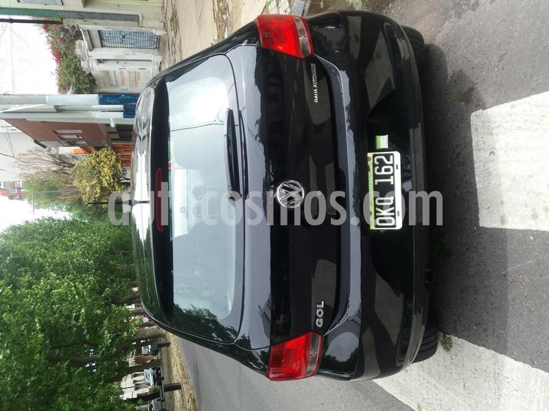 Volkswagen Gol Trend 3P Pack I usado (2015) color Negro precio $650.000