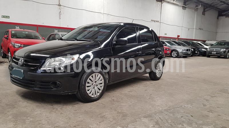 Volkswagen Gol Trend 5P Pack I usado (2010) color Negro precio $549.000