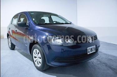 Volkswagen Gol Trend 5P Trendline usado (2016) color Azul precio $360.000