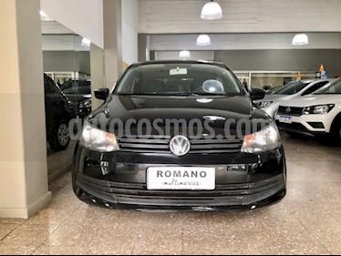 Volkswagen Gol Trend 5P Pack I usado (2016) color Negro precio $500.000
