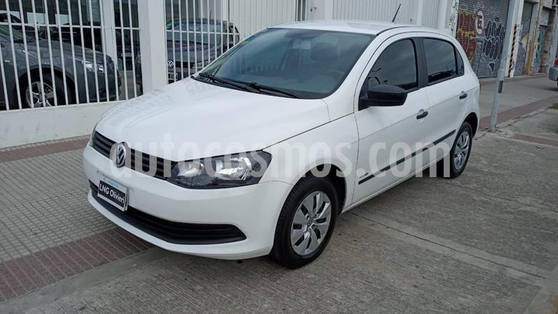Volkswagen Gol Trend 5P Pack II usado (2013) color Blanco Cristal precio $620.000