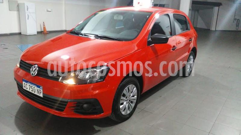 Volkswagen Gol Trend 5P Trendline usado (2018) color Rojo Flash precio $740.000