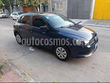 Volkswagen Gol Trend 5P Pack I usado (2015) color Azul precio $430.000