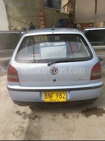 Foto venta Carro usado Volkswagen Gol 1.8 Sportline (2002) color Celeste precio $9.500.000