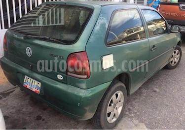 Foto venta carro usado Volkswagen Gol 3 Ptas. Basic (1998) color Verde precio u$s1.000