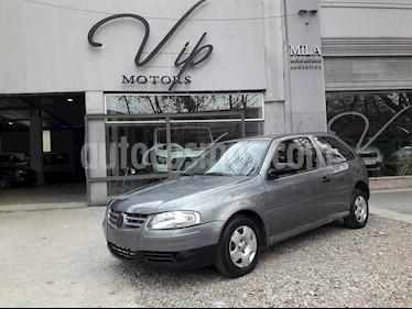 Foto venta Auto usado Volkswagen Gol 3P 1.6 Power Dh (2007) color Gris Oscuro precio $180.000