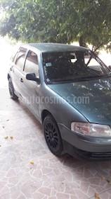 Foto venta Auto usado Volkswagen Gol 3P 1.6 Power Plus (2008) color Gris Oscuro precio $140.000