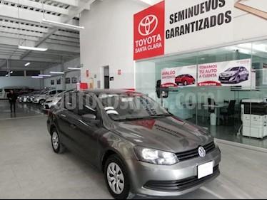 Foto venta Auto usado Volkswagen Gol 4p Sedan CL L4/1.6 Man (2015) color Gris precio $119,000