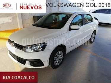 Foto venta Auto usado Volkswagen Gol 4p Sedan Trendline L4/1.6 Man (2018) color Blanco precio $179,000