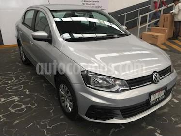 Foto Volkswagen Gol 4p Sedan Trendline L4/1.6 Man usado (2017) color Plata precio $157,000