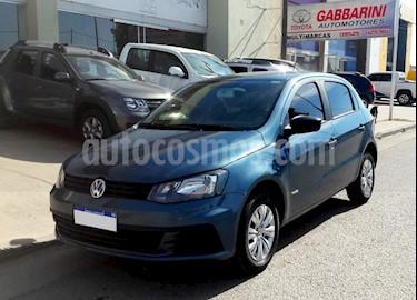 Foto venta Auto usado Volkswagen Gol 5P 1.6 GL Mi Full (2018) color Azul precio $490.000
