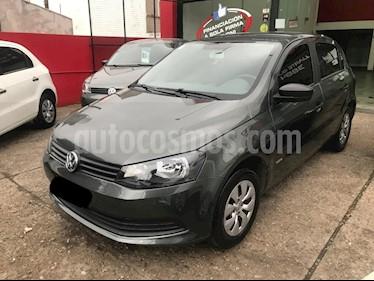 Foto venta Auto usado Volkswagen Gol 5P 1.6 GL Plus (2014) color Gris Oscuro precio $340.000