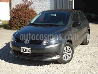 foto Volkswagen Gol 5P 1.6 GL Plus usado (2014) color Gris Oscuro precio $120.000