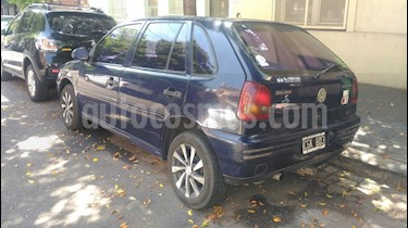 Volkswagen Gol 5P 1.6 Mi Dublin Dh Ac usado (1998) color Azul precio $83.500