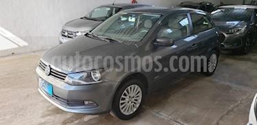 Foto venta Auto usado Volkswagen Gol 5P 1.6 Mi GL (2016) color Gris Oscuro precio $379.000