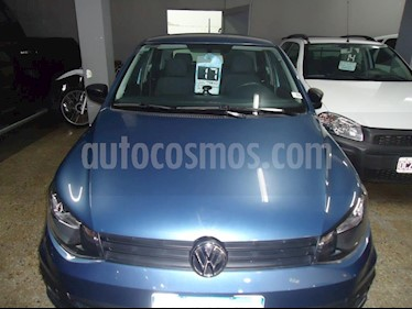 Volkswagen Gol 5P 1.6 Mi GL usado (2017) color Azul precio $580.000