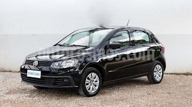 Foto venta Auto usado Volkswagen Gol 5P 1.6 Mi GL (2018) color Negro precio $449.000