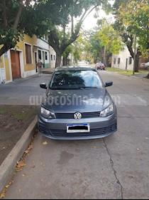 Volkswagen Gol 5P 1.6 Trendline usado (2017) color Gris Oscuro precio $370.000