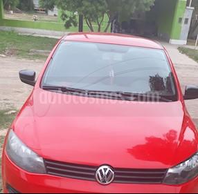 Volkswagen Gol 5P 1.6 Trendline usado (2013) color Rojo precio $230.000