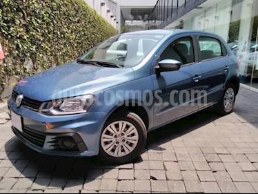 Volkswagen Gol 5p Trendline L4/1.6 Man usado (2018) color Azul precio $179,000