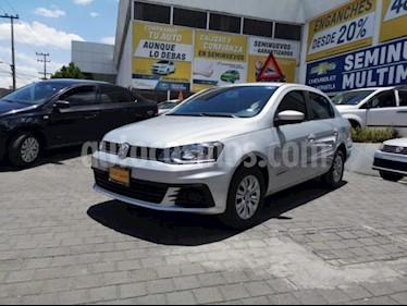 Foto venta Auto usado Volkswagen Gol 5p Trendline L4/1.6 Man (2017) color Plata precio $139,000