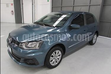Foto venta Auto usado Volkswagen Gol 5p Trendline L4/1.6 Man (2018) color Azul precio $165,000
