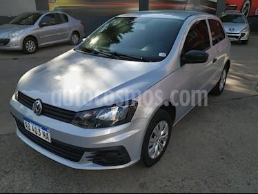 Volkswagen Gol 5P 1.6 Mi GL usado (2017) color Gris Claro precio $480.000