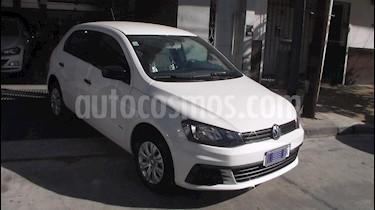Volkswagen Gol 5P 1.6 Trendline usado (2018) color Blanco precio $649.900