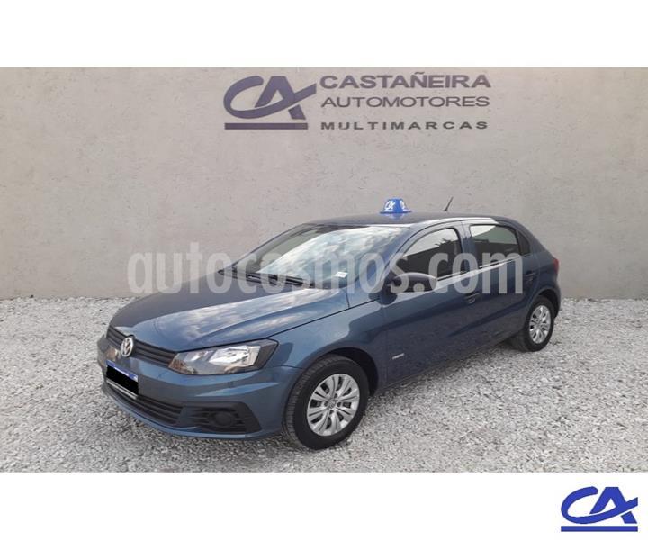 Volkswagen Gol 5P 1.6 Mi GL usado (2017) color Azul precio $748.000