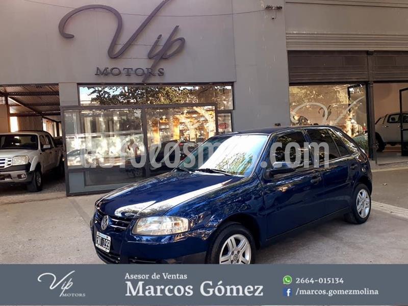 Volkswagen Gol 3P 1.6 Power Dh usado (2006) color Azul precio $390.000