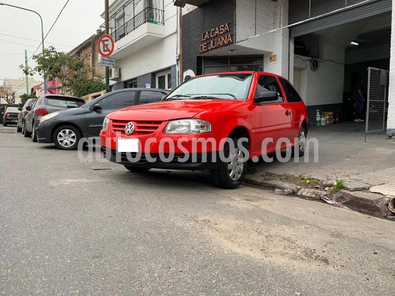 Volkswagen Gol 1.6 3Ptas. Trendline usado (2009) color Rojo precio $319.000