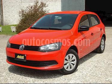 Volkswagen Gol 5P 1.6 GL Plus usado (2015) color Rojo precio $210.000