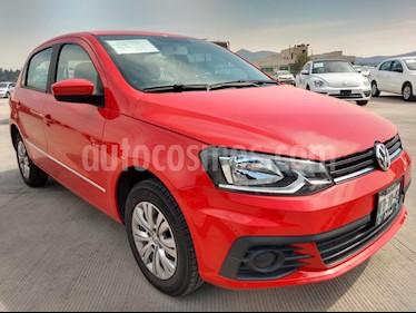 Foto venta Auto Seminuevo Volkswagen Gol CL (2018) color Rojo Flash precio $173,000