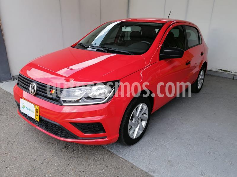 Volkswagen Gol Comfortline usado (2020) color Rojo precio $39.990.000