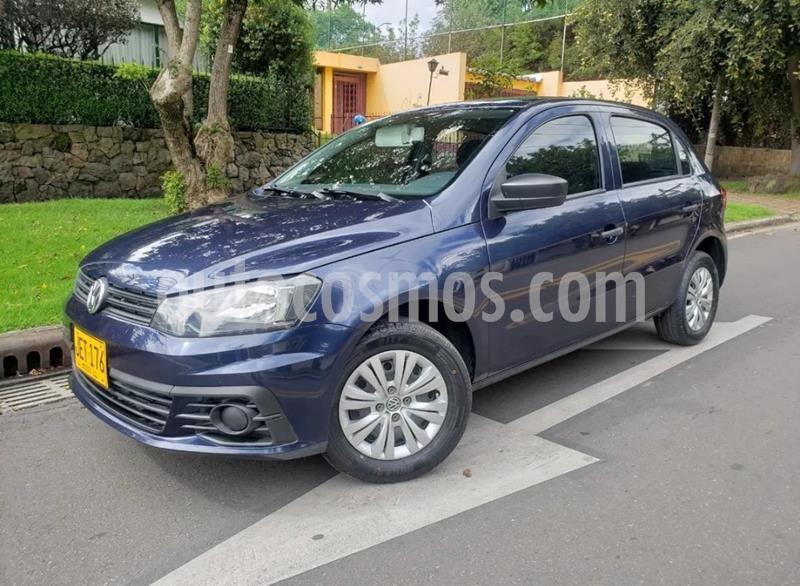 Volkswagen Gol Trendline usado (2017) color Azul precio $29.900.000