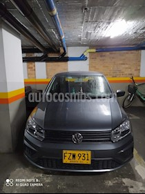Volkswagen Gol Comfortline  usado (2019) color Gris precio $33.000.000