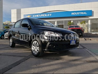 Volkswagen Gol Comfortline usado (2018) color Negro precio $180,000