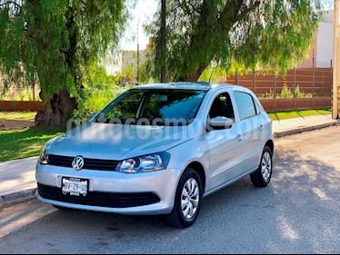 Foto venta Auto usado Volkswagen Gol GL Team (2014) color Plata precio $104,500