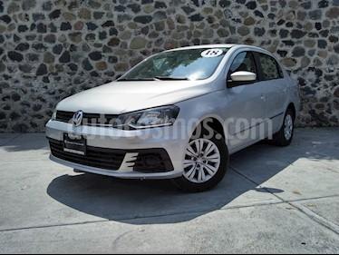 Foto venta Auto usado Volkswagen Gol I - Motion (2018) color Plata precio $189,000