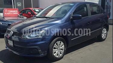 Volkswagen Gol Trendline usado (2017) color Azul Noche precio $145,000
