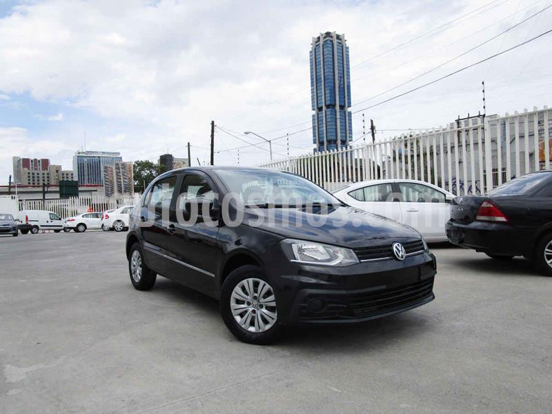 Volkswagen Gol Trendline usado (2017) color Negro precio $139,000