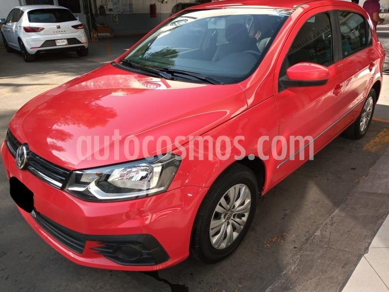 Volkswagen Gol Trendline usado (2017) color Rojo precio $159,500