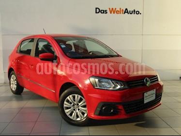 Volkswagen Gol Trendline usado (2017) color Rojo Flash precio $149,000