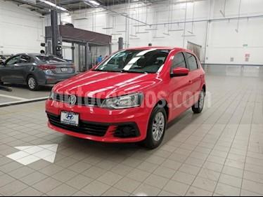 Volkswagen Gol 5P TRENDLINE L4/1.6 MAN usado (2017) color Rojo precio $149,000
