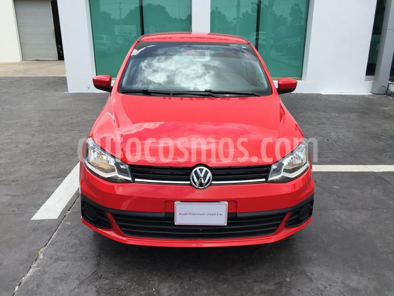 Volkswagen Gol Trendline usado (2017) color Rojo precio $121,000
