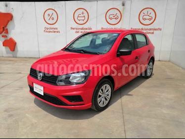 Volkswagen Gol 5p Trendline L4/1.6 Man usado (2019) color Rojo precio $184,000
