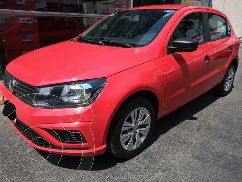 Foto Volkswagen Gol Trendline usado (2020) color Rojo precio $199,500