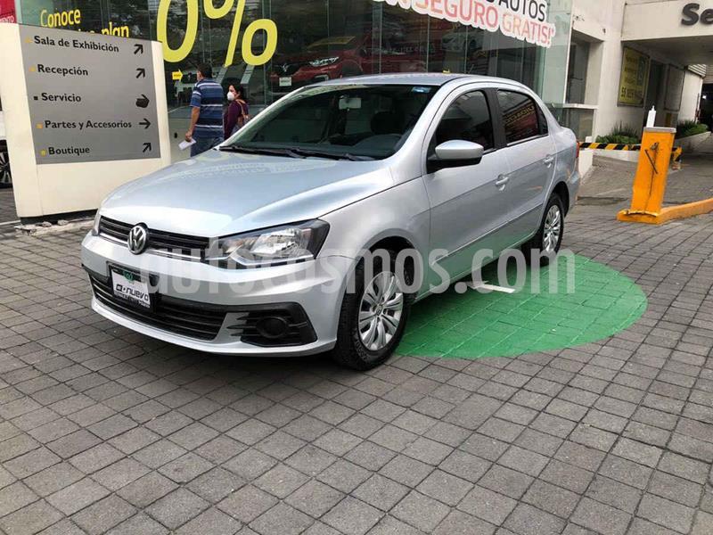 Volkswagen Gol Trendline usado (2018) color Plata precio $179,000